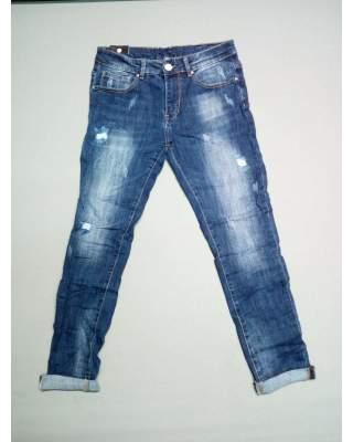 Jeans Uomo con rotture Y83