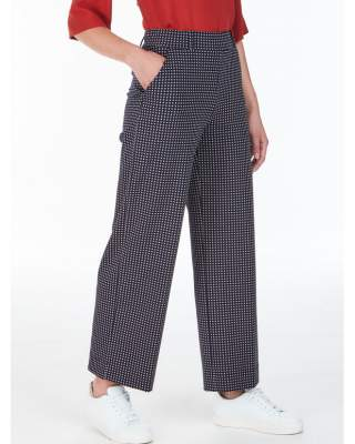 Pantalone cropped in misto...
