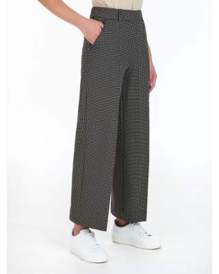 Pantalone cropped in misto...